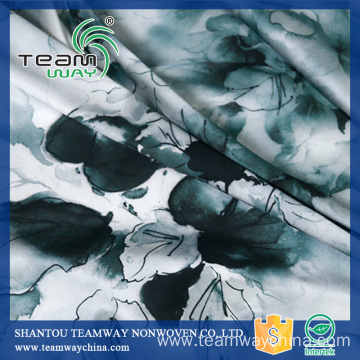 Printing Services 100% Polyester Satin Fabric for Dress